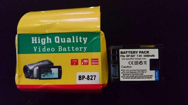 Bateria Canon BP-827, 3400mAh