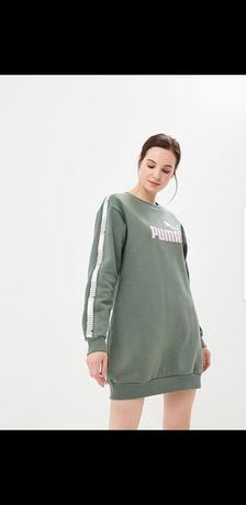 Платье свитшот Puma