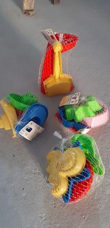 Zabawki do piasku zestaw