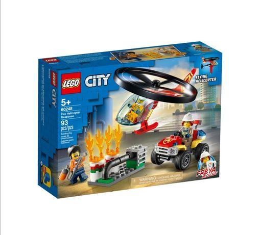 Конструктор LEGO City Пожарный спасательный вертолет 60248