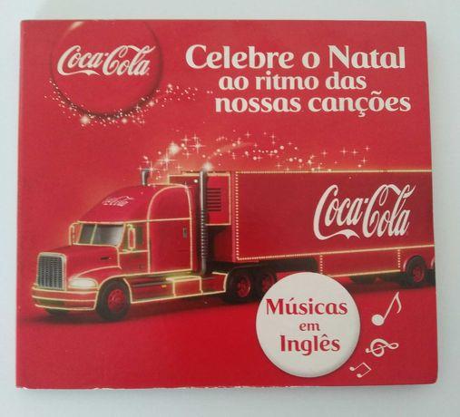 CD de músicas de Natal da Coca-Cola
