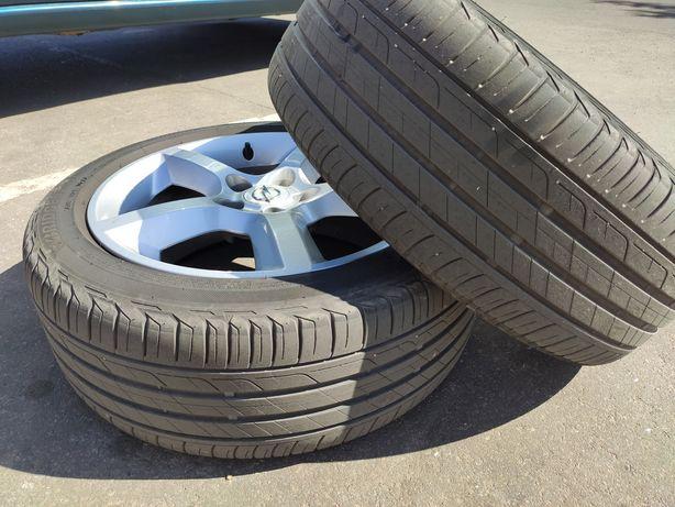 Идеальные летние шины Bridgestone Turanza t001 225/45 r17 2017 6 мм