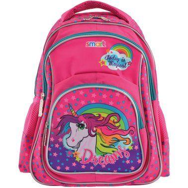 Рюкзак шкільний Портфель школьный Smart ZZ01 Unicorn єдиноріг единорог