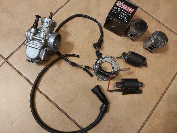 Honda cr85 gaźnik stator cewki tłok fajka kabel części
