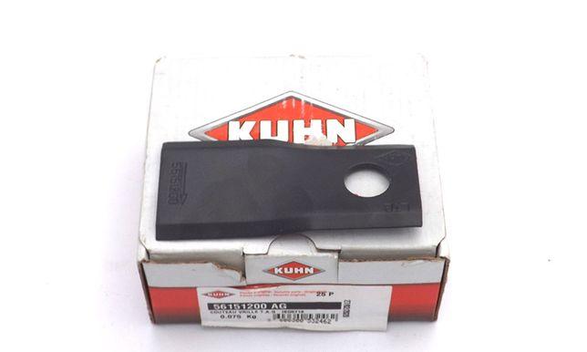Nożyk kosiarki rotacyjnej lewy 93x40x3 mm Kuhn orginał