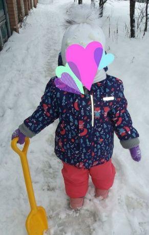 Зимний костюм на девочку! В отличном состоянии!