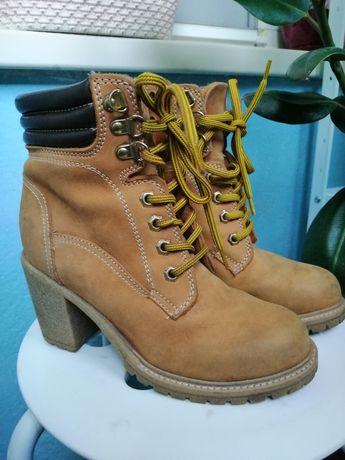 Демисизонные ботинки. Тимберлейки.