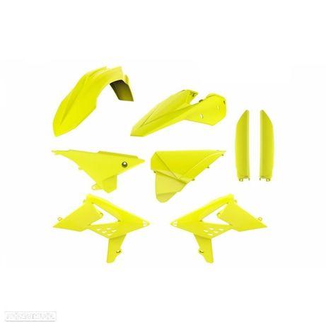kit plasticos polisport amarelo fluor beta rr 250 / 350 / 430
