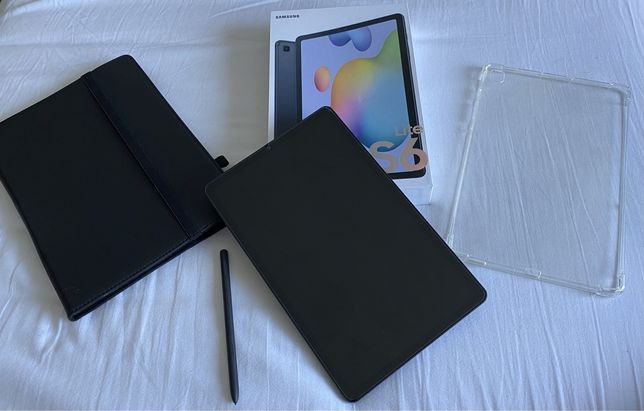 Tablet Samsung S6 lite C/ Capas