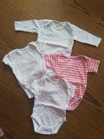 Body niemowlęce dziewczęce rozmiar 50
