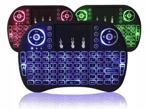 Клавиатура KEYBOARD wireless MWK08/i8 LED + touch с подсветкой