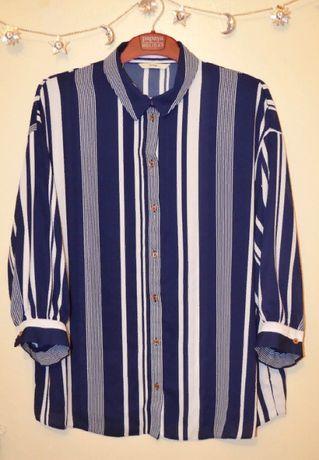 Блуза в вертикальную полоску от george 22 размер