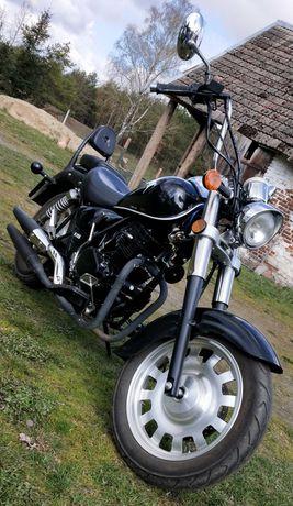 Motocykl, Romet R125, Chopper, Komfortowy, Idealny do nauki Jazdy