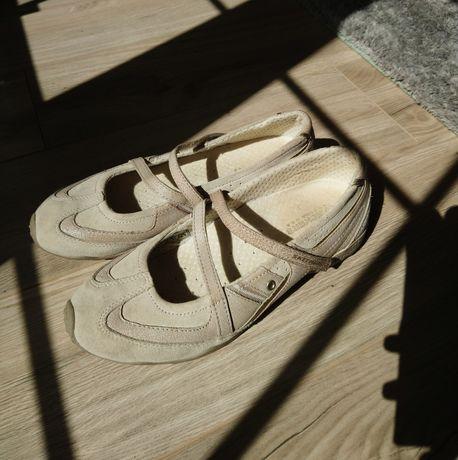 Skechers 39 baleriny balerinki buty sportowe zapinane na pasek półbuty
