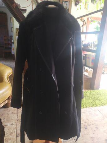 Czarny płaszcz wiosna- jesień nr 12
