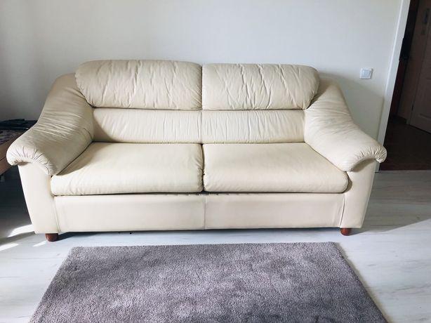 Кожанный раскладной диван CETTI