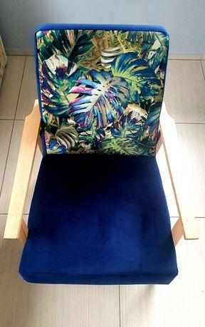 Fotel PRL odrestaurowany