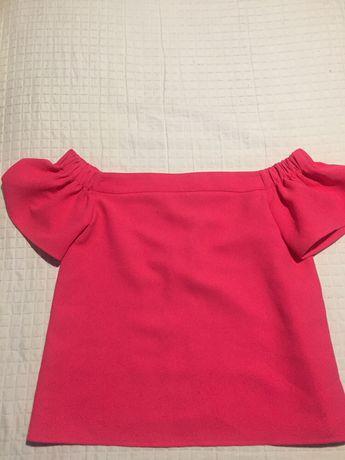 Bizzu bluzka hiszpanka fuksja 40 M-L
