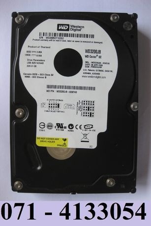 "Western Digital HDD 3.5"" 320Gb IDE - WD3200JB - ОБМЕН НА ОФИС 2010"