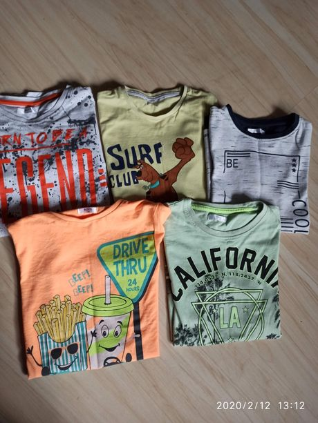 T-shirty 134/140