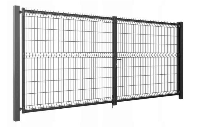 Brama dwuskrzydłowa Modest Wiśniowski 3000x1530