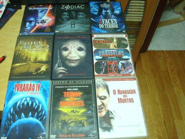 lote 17 filmes terror originais,gremlins ,fausto, etc Trofa - imagem 1