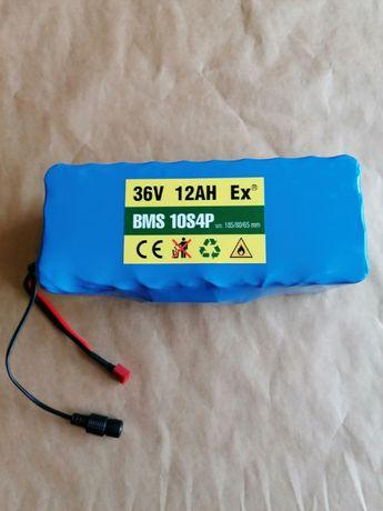 Akumulator 36V 12Ah z BMS rower hulajnoga