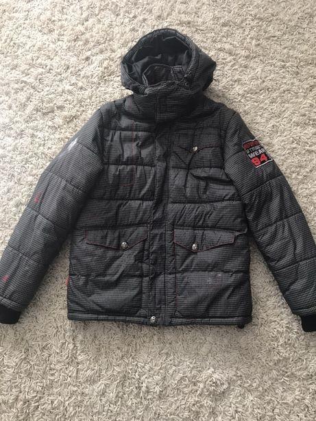 Reporter kurtka zimowa dla chłopca rozmiar 146