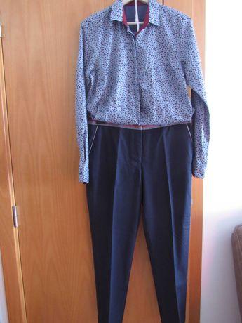Conjunto calça e camisa LP tamanhos 42 e XL