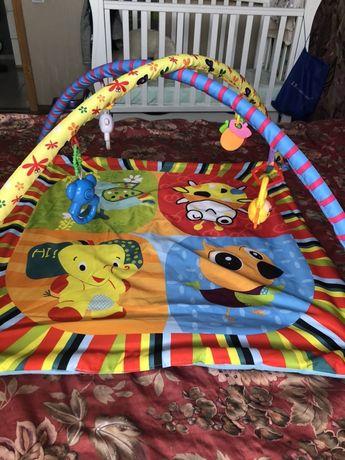 Продам детский развивающий коврик - 80гривен