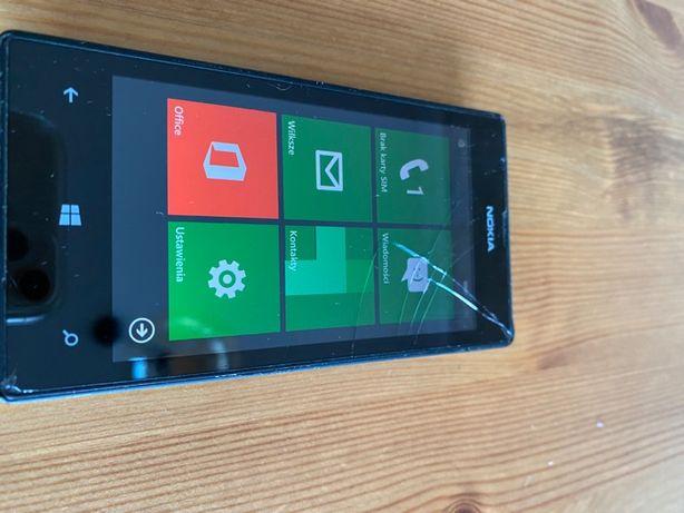 Nokia Lumia 520- uszkodzony ekran, działająca!
