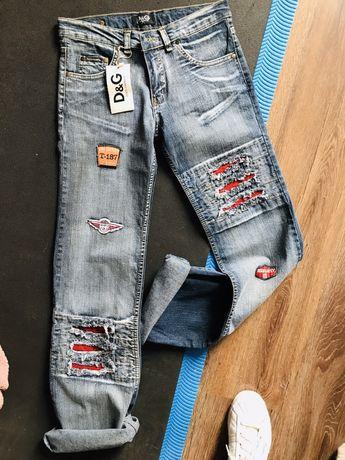 Oryginalne jeansy DOLCE&GABBANA rozmiar xs/s