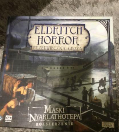 Gra planszowa Eldritch Horror maski nyarlathotepa
