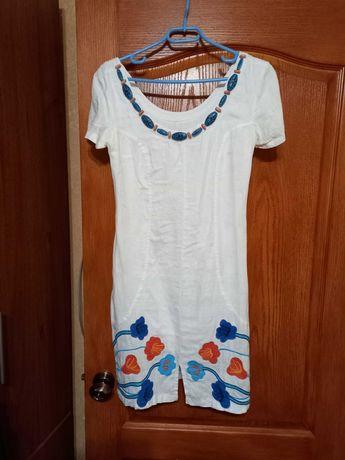 Продам платье льняное
