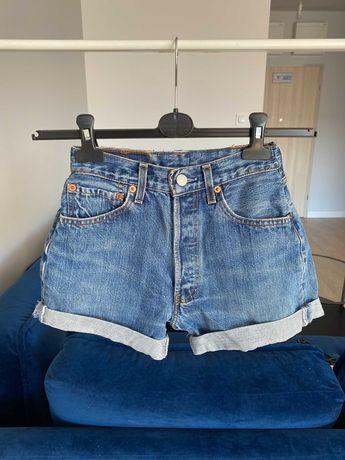 spodenki levi's pasuję na XS jeansowe