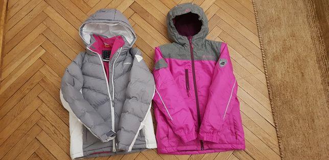 2 kurtki spodnie i skarpety narciarskie