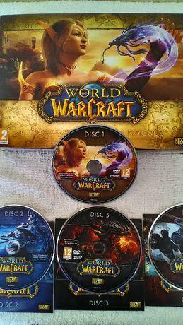 Qultowa gra World of WarCraft 4 dyski ! ! !