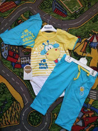 Літній комплект футболка і штани