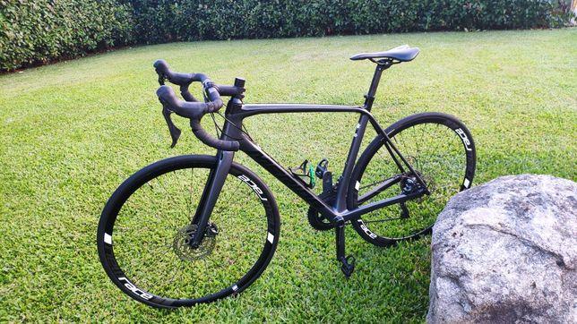 Bicicleta Estrada carbono  Mérida scultura 6000 disco  M/l 55