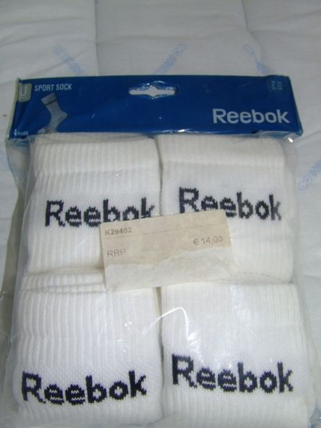 Skarpety Reebok skarpetki - cztery pary