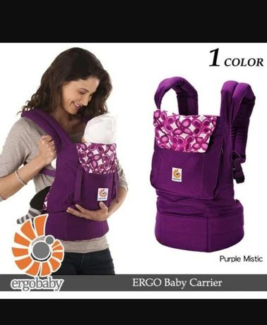 Эрго-рюкзак ergo baby carrier purple mistic оригинал переноска слинг