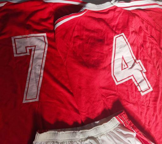 Equipamento Futebol Camisola e Calção C/Número