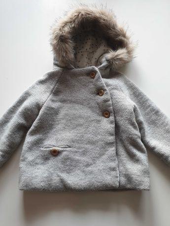 płaszczyk kurteczka dla dziewczynki zaraz rozmiar 92 cm