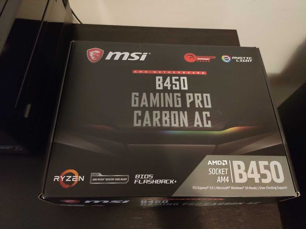 Motherboard MSI B450 Gaming Pro Carbon AC