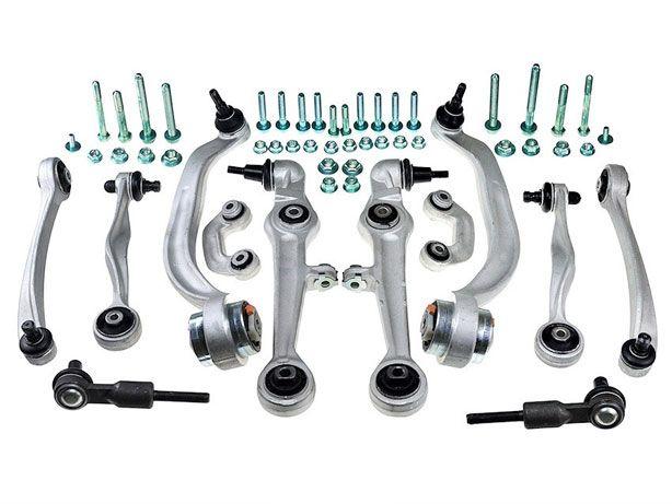 Kit Braços Suspensão Audi A6 C5 A6 Avant (99-05) (Reforçados) (NOVO)