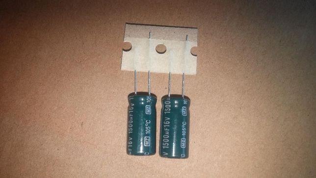 Kondensator elektrolityczny 1500uF/16V low ESR (2 szt.)