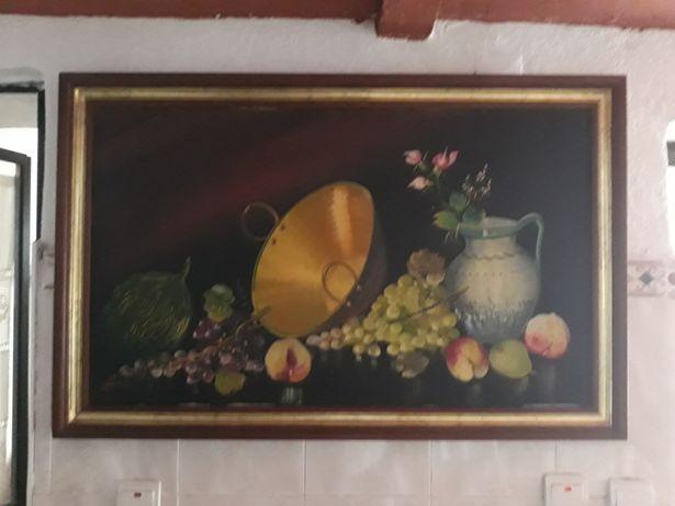 Quadro grande de frutas