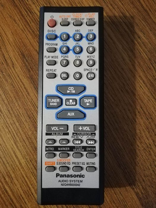 Panasonic N2QAHB000042 Stan idealny Orginał