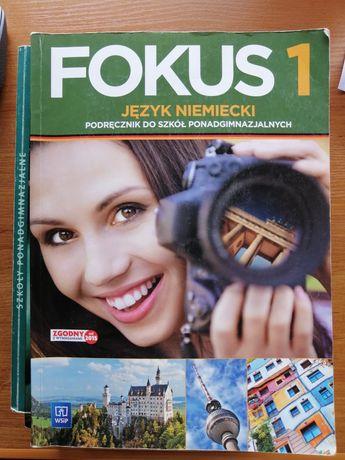 Podręcznik j.niemiecki- Fokus 1 i 2