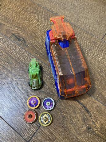 Игровой набор Screechers Wild Скоростной запуск